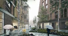 Gallery of Gothenburg to Realise Henning Larsen's Mixed-Use Urban District - 2