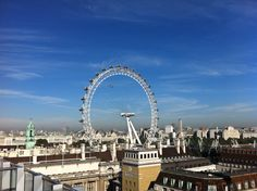 View from a suite in the Park Plaza Westminster Bridge London