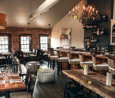 Ceia Restaurant Newburyport Ma Rustic Interior Furniture Design