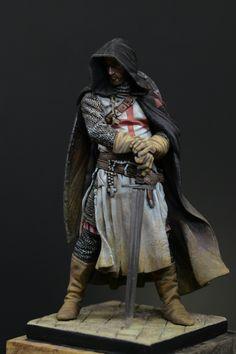 Templar Sergeant, Xlll century by MH-Hwang · Putty&Paint