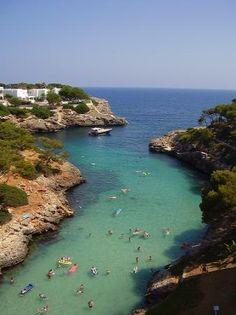 Cala d'Or. Mallorca. Spain