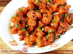Gobi manchurian recipe - This is one of the delicious manchurian recipe from Indo chinese cuisine. This recipe yields crispy saucy gobi manchurian.