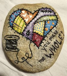 You make me whole! #God #paintedrock