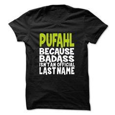 Awesome PUFAHL T shirt - TEAM PUFAHL, LIFETIME MEMBER