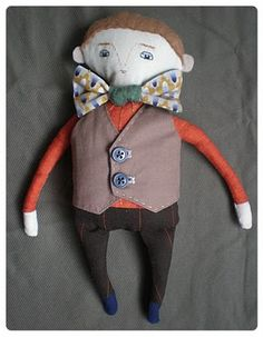 Bow Tie Boy from the lovely handmade romance