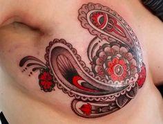 tattoo artist's post-mastectomy tattoo photos go viral.