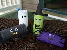 Halloween Goody Tubes