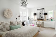Teen Girls Room Ideas - Contemporary - Girl's Room - Jennifer Worts Design