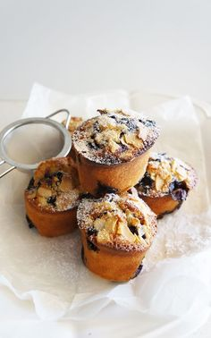 Blueberry and Lemon Friands // morning tea