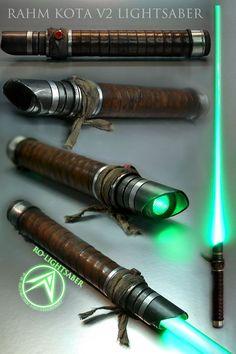 Custom Lightsabers Will Make You Really Feel Like A Jedi - Star Wars Lightsaber Design, Lightsaber Hilt, Custom Lightsaber, Starwars, Star Wars Art, Star Trek, Cyberpunk, Sabre Laser, Product Design