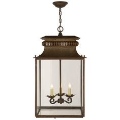 Circa Lighting offers a vast array of light fixtures including pendant lighting and chandeliers. Premier resource of designer lighting for Visual Comfort. Circa Lighting, Antique Lighting, Pendant Lighting, House Lighting, Library Lighting, Antique Chandelier, Small Lanterns, Hanging Lanterns, Lantern Chandelier