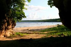 Lao Lao Beach. great for snorkeling. Saipan, CNMI Photo from Panoramio by Souk