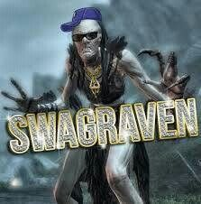A Hagraven from Skyrim looking fresh.