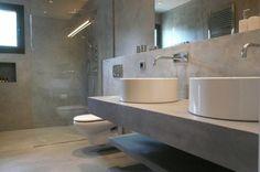 Interiores de cemento pulido