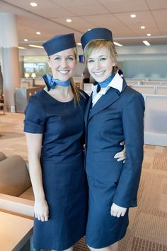 Thnx @porterairlines 4 a fab( for a change) flight experience this week (your retro uniforms rock) Photo McGill News