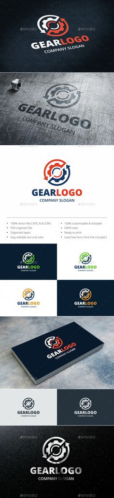 Repair — Photoshop PSD #mechanic #engine • Available here → https://graphicriver.net/item/gear/15219382?ref=pxcr