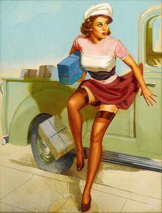 #pinup #vintage #art