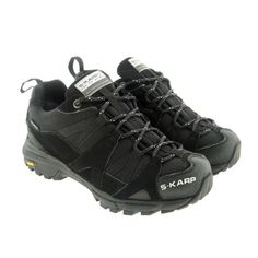 S-KARP Trail Runner Winter, Black, Waterproof Speed Hiking Shoes with eVent winter membrane and Vibram soles Hiking Shoes, Trekking, Trail, Urban, Boots, Winter, Casual, Black, Fashion
