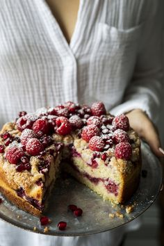 Desserts - K pour Katrine Raspberry Recipes, Pear Recipes, Cake Recipes, Dessert Recipes, Dessert Sans Gluten, Delicious Desserts, Yummy Food, Gluten Free Cakes, Vegan Cake
