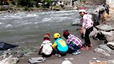 Children playing in the water of River Kunhar Kids Playing, River, Children, Young Children, Boys, Kids, Rivers, Child, Children's Comics