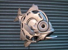 OMG! 20 Breathtaking Sculptures Made from Old Car Parts. You won't believe your eyes #spon #autoart