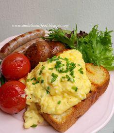 Gordon Ramsey Eggs, Gordon Ramsey Scrambled Eggs, Light Recipes, Egg Recipes, Dinner Recipes, Gordon Ramsay Dishes, Breakfast Dishes, Breakfast Recipes, Brunch