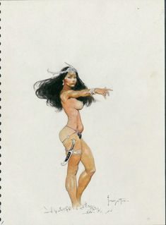 Dejah Thoris by Frank Frazetta
