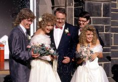 Harold Bishop married Madge in Neighbours 1988.