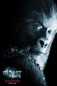 High resolution official theatrical movie poster ( of for Planet of the Apes Image dimensions: 800 x Directed by Tim Burton. Fiction Movies, Science Fiction, Tim Burton, Cool Posters, Movie Posters, Movie Magazine, Hd Movies Online, Planet Of The Apes, Movies 2019