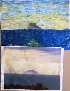 Impressionismo. 8th grade, oil pastels