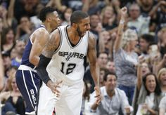 San Antonio Spurs throttle Oklahoma City Thunder in Game 1 of... #OklahomaCityThunder: San Antonio Spurs throttle… #OklahomaCityThunder