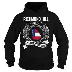Richmond Hill, Georgia - Its Where My Story Begins - #blank t shirt #make your own t shirts. PURCHASE NOW => https://www.sunfrog.com/States/Richmond-Hill-Georgia--Its-Where-My-Story-Begins-Black-Hoodie.html?60505