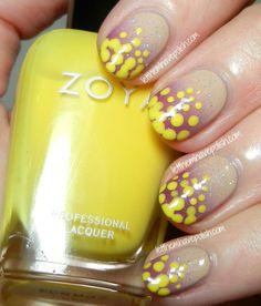 Zoya for Rolando Santana Nail Polish Trio Nail Art Look