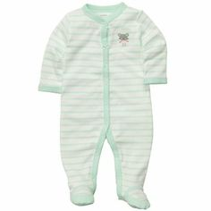 Cotton Snap-Up Sleep & Play. Carter's. Available in preemie sizing.