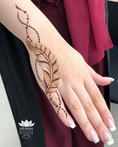 121 Simple mehndi designs for hands - fingertatoo - Henna Designs Hand