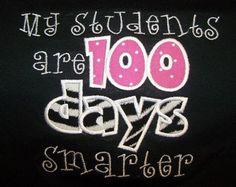 My Students are 100 Days Smarter School Shirt Teacher Shirt Student TShirt via Etsy