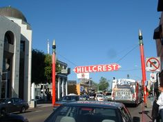 The Hillcrest Sign at 5th and University Avenues