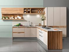 l shaped kitchen cabinet design
