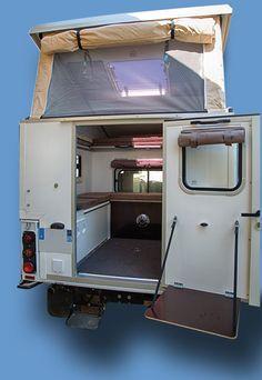 Equipements Rrcab Cellule Pour Pickup Pick Up 4x4 Legere Amovible Camping Car