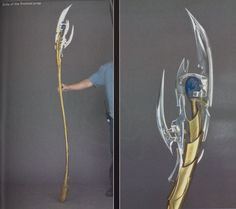 Haven't seen a lot of Loki staffs on the net, So I thought Id share how I made mine, that way, you can do the same, or use my same techniques ...