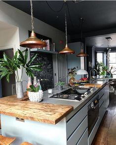 """143 Likes, 3 Comments - Y U V A I N T E R I O R S (@yuva_interiors) on Instagram: """"Inspiring kitchen  By: @madcowinteriors Location: London Love it !…"""""""