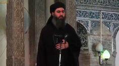 El líder del EI, Al Baghdadi, se movió por la ciudad en un vehículo blindado acompañado por milicianos armados.