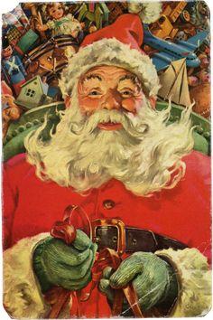 Santa Claus. Illustrasjon. 2:. ♥ Creative NN. Albina Rasseinoy blogg. ♥