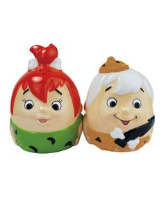 Take a look at this Pebbles & Bamm-Bamm Egg Salt & Pepper Shaker Set by Westland Giftware on #zulily today!