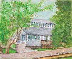 https://flic.kr/p/CQ7cet | House portrait for Ellis | Another classic old Saltaire house