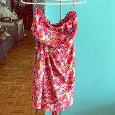 Express Summer Strapless Dress(NEW) Non Smoking/Pet Free Home/Never worn Express Dresses Strapless