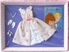 *1962 Fashion garden party Barbie outfit 2 #931