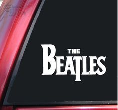 The Beatles Vinyl Decal Sticker - Stick it on your surfboard!
