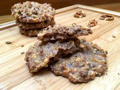 Magvas tallér liszt nélkül | mókuslekvár.hu Cookies, Chocolate, Recipes, Food, Crack Crackers, Biscuits, Recipies, Essen, Chocolates