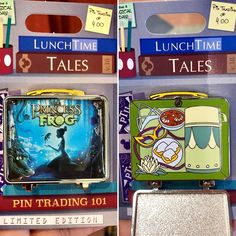 Lunch Time Tales 2018 Princess and the Frog Pin Disney Trading Pins, Disney Pins, Walt Disney, Disney Pin Display, All Disney Characters, Disneyland Pins, Hidden Mickey, Pin And Patches, Pin Collection